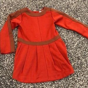 LIHO toddler pleated fall dress
